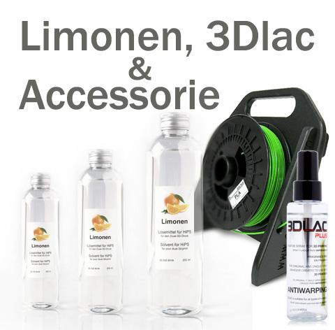 Limonen, Spray und Zubehör