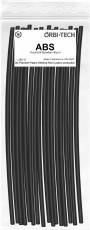 ABS Reparatur-Sticks (25 Sticks á 20 cm) Schwarz