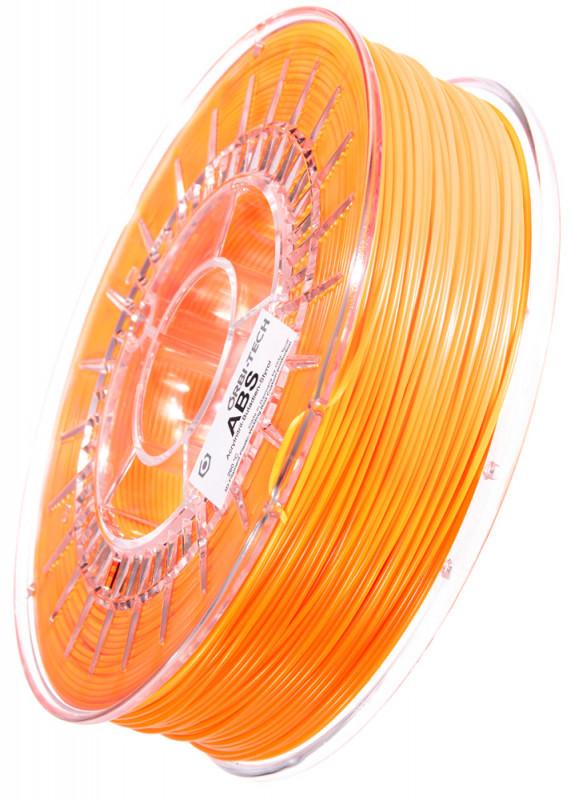 ABS Filament 1,75 mm, 750 g Leucht-Orange