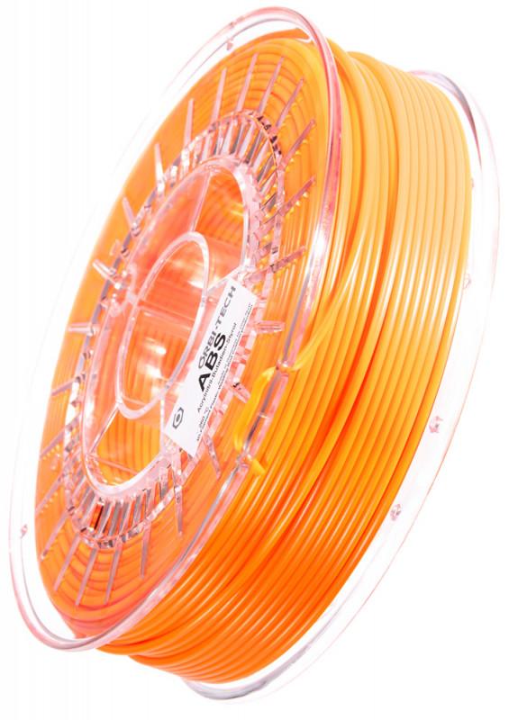 ABS Filament 2,85 mm, 750 g Leucht-Orange