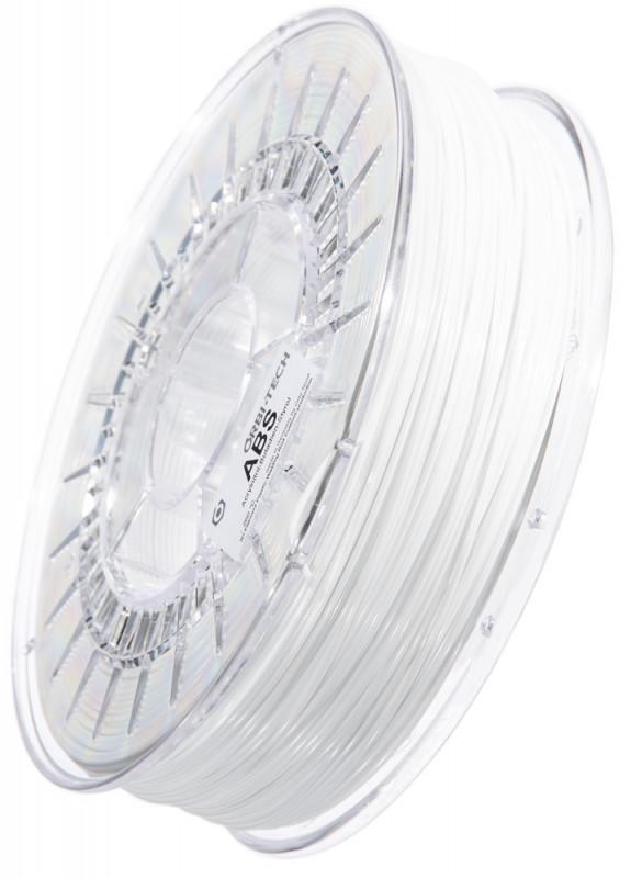 ABS 3D Filament 1,75 mm, 750 g Weiß