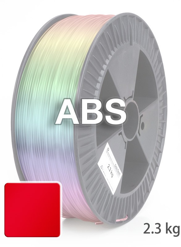 abs filament 1 75 mm g rot orbi tech. Black Bedroom Furniture Sets. Home Design Ideas