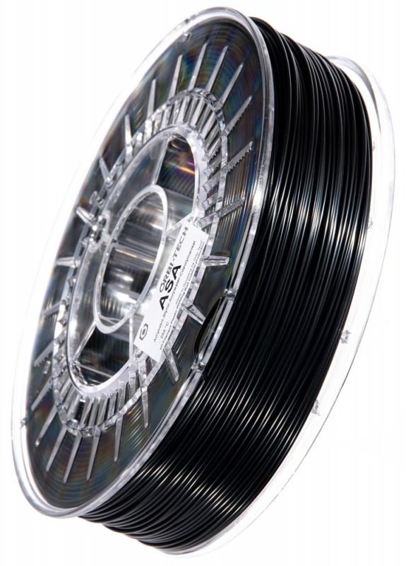 ASA 3D Filament, 1,75 mm, 750 g auf Spule, Schwarz