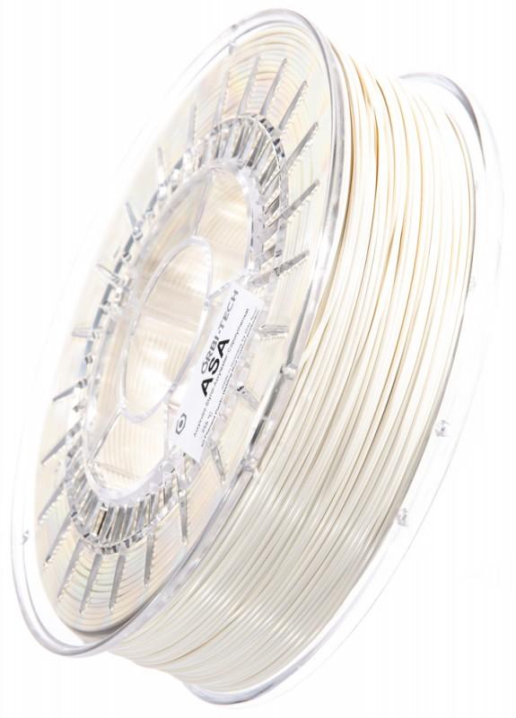 ASA 3D Filament, 1,75 mm, 750 g auf Spule, Weiß