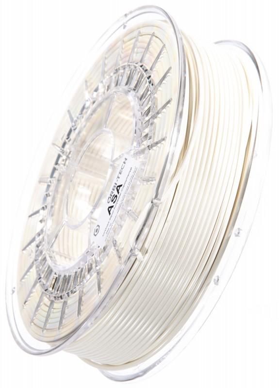 ASA 3D Filament, 2,85 mm, 750 g auf Spule, Weiß