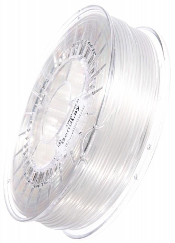BendLay 3D Filament, Glasklar / Transparent, 2,85 mm, 750 g
