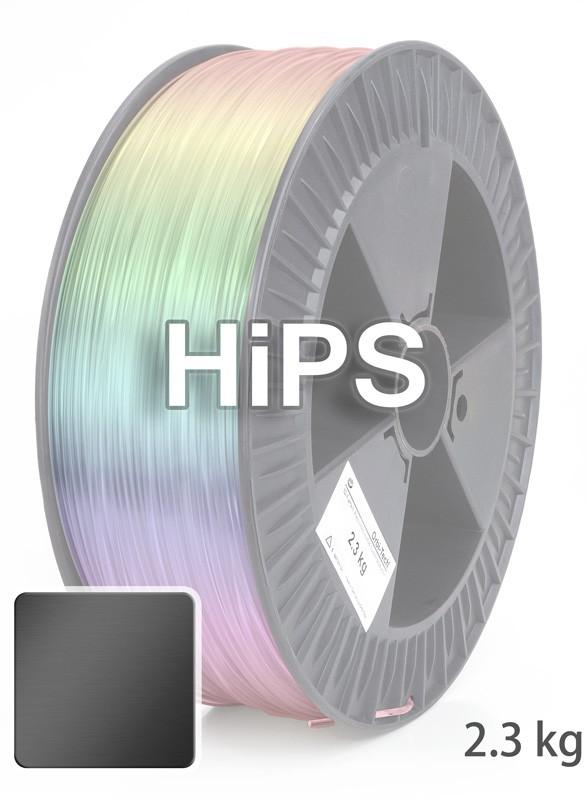 HiPS Filament 1.75 mm, 2.300 g, Schwarz