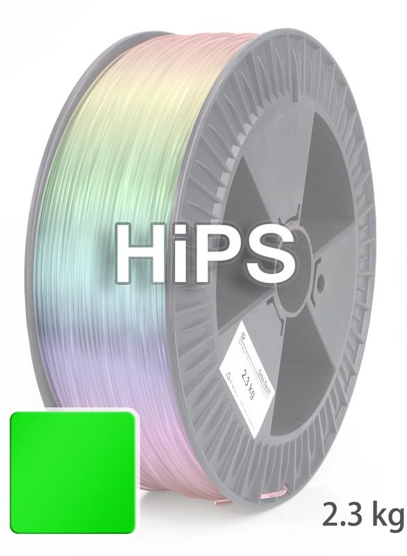 HiPS Filament 1.75 mm, 2.300 g, Grün