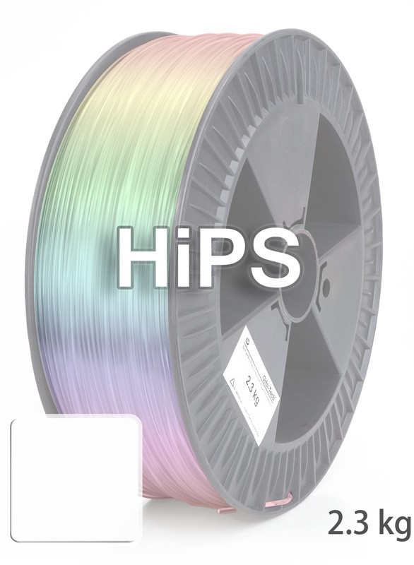 HiPS Filament 1.75 mm, 2,300 g, White