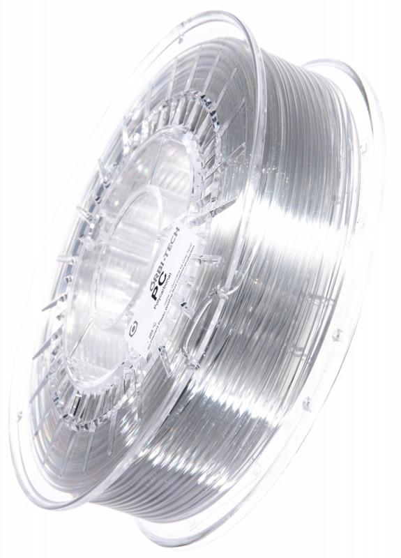 PC Filament 2,85 mm, 750 g, Glasklar / Transparent