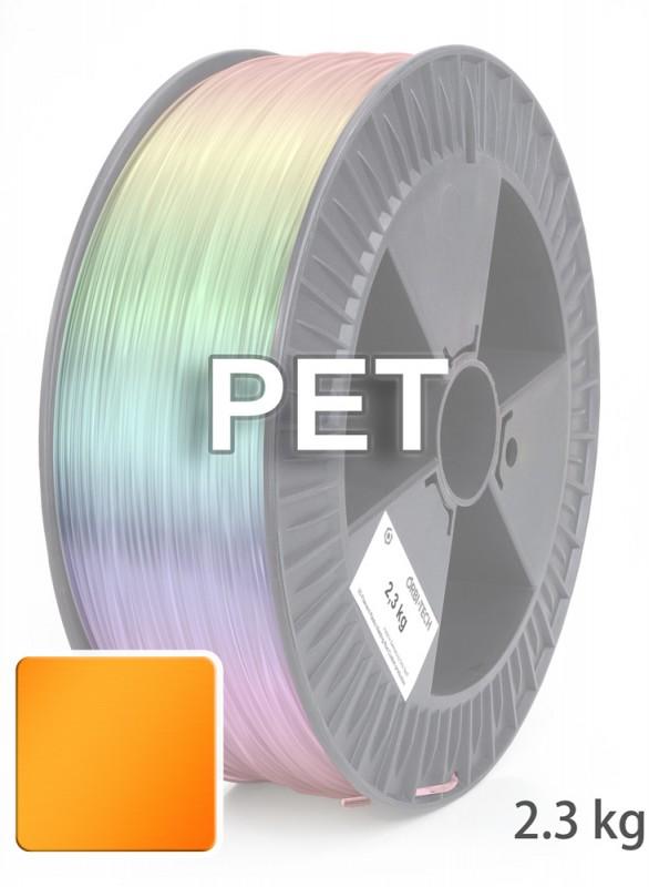 PET Filament 1,75 mm, 2.300 g, Leucht-Orange