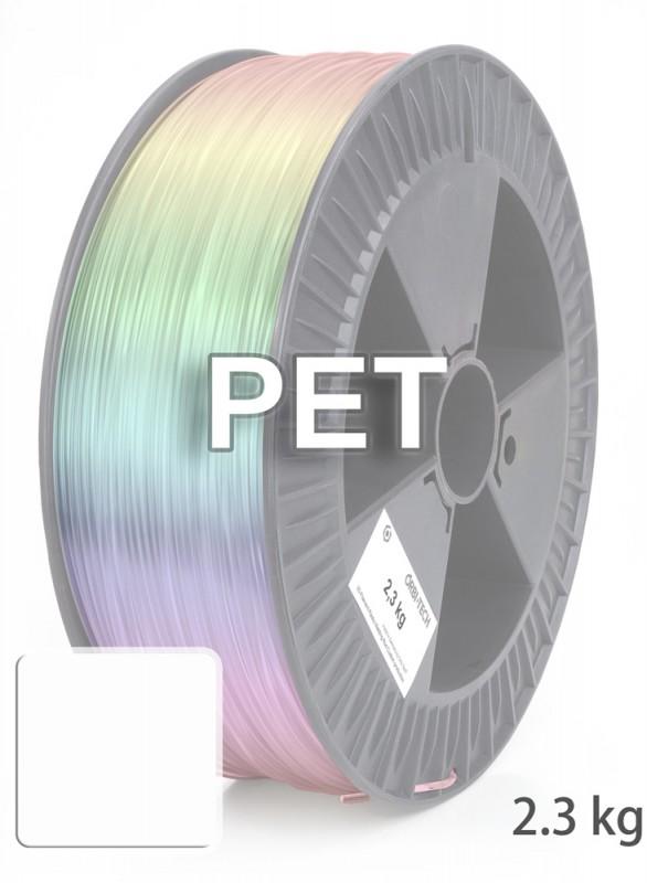 PET 3D Filament 1,75 mm, 2.300 g, Weiß
