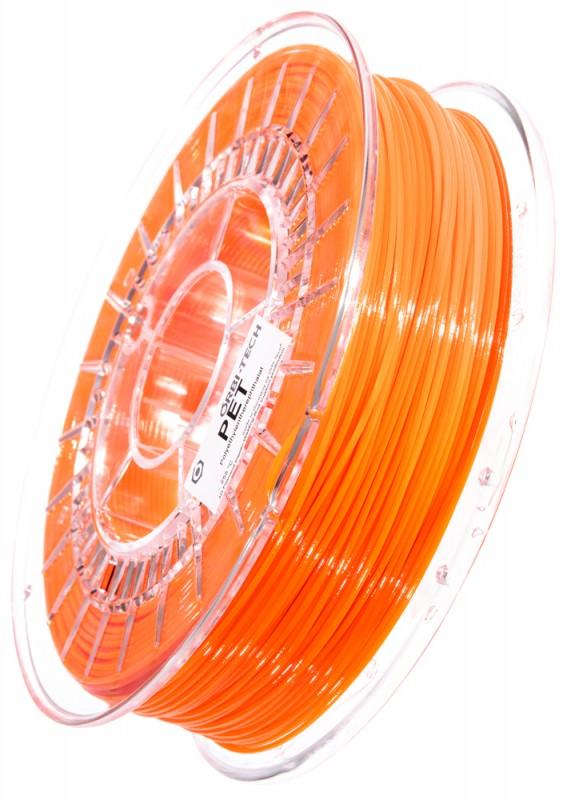 PET Filament 1,75 mm, 750 g, Leuchtorange