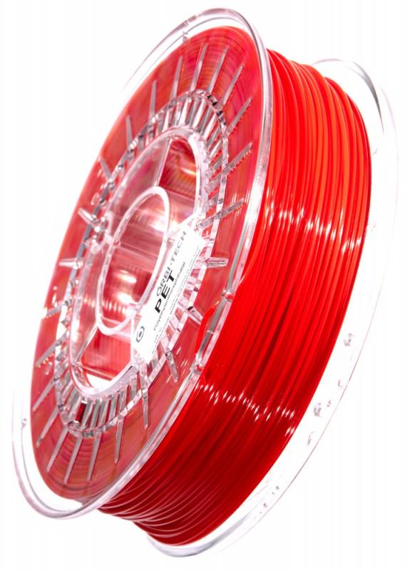 PET 3D Filament 1,75 mm, 750 g, Rot