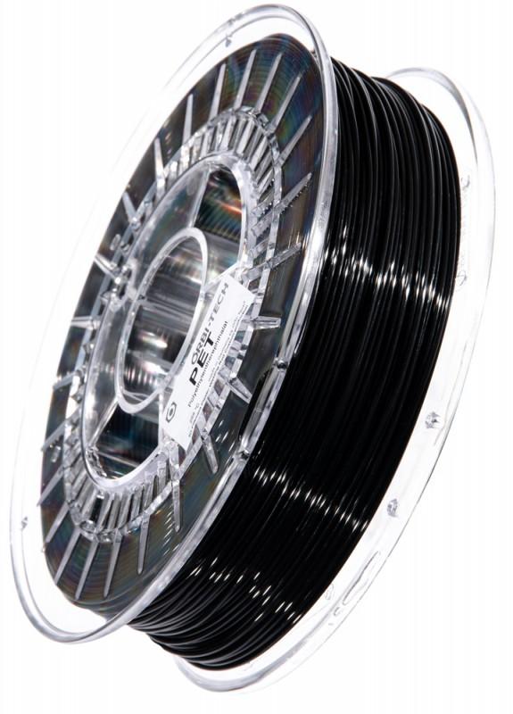PET 3D Filament 1,75 mm, 750 g, Schwarz