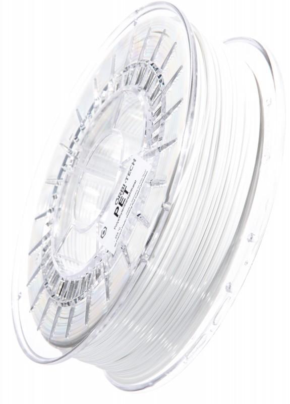 PET 3D Filament 1.75 mm, 750 g, White