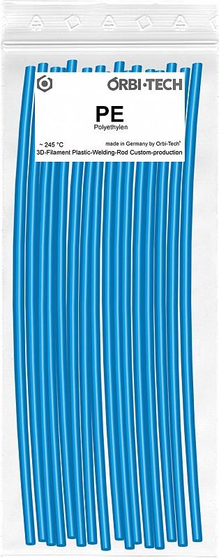 PE Reparatur-Sticks (25 Sticks á 20 cm) Himmelblau