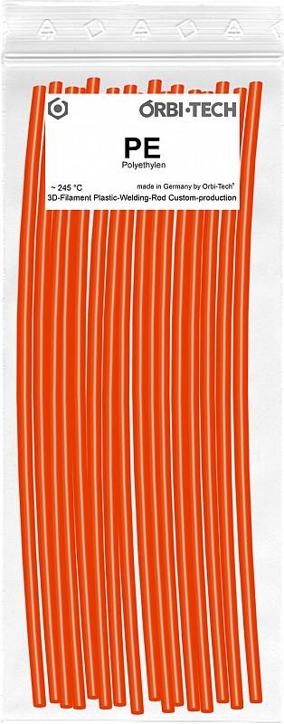 PE Reparatur-Sticks (25 Sticks á 20 cm) Orange