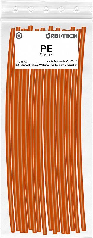 PE Reparatur-Sticks (25 Sticks á 20 cm) Signal-Orange