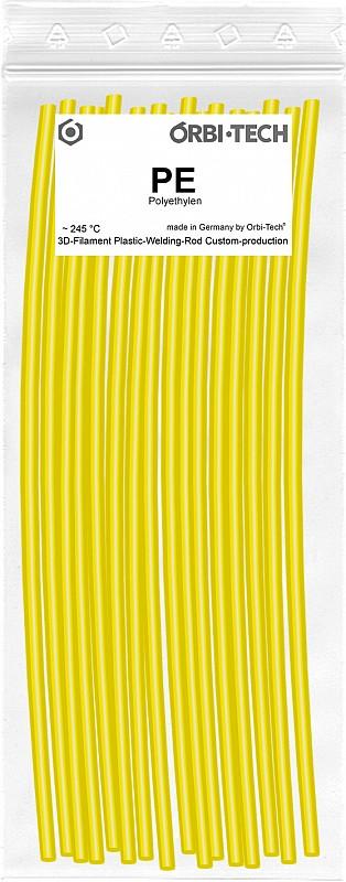 PE Reparatur-Sticks (25 Sticks á 20 cm) Gelb