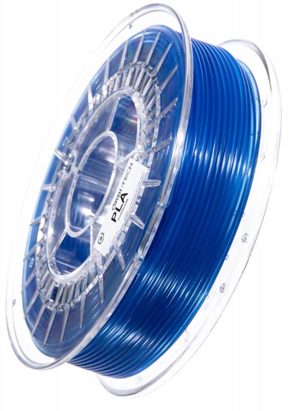 PLA Filament 2,85 mm, 750 g, Blau-transparent