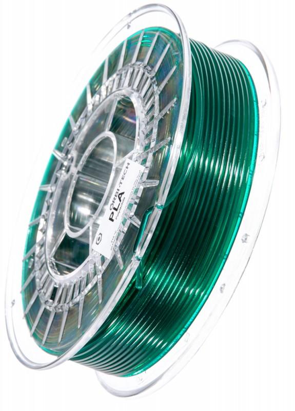 PLA Filament 2,85 mm, 750 g, Grün-Transparent