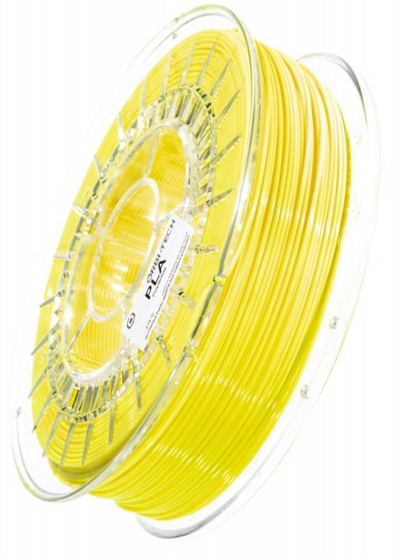 PLA 3D Filament 1.75 mm, 750 g, Leucht-Gelb
