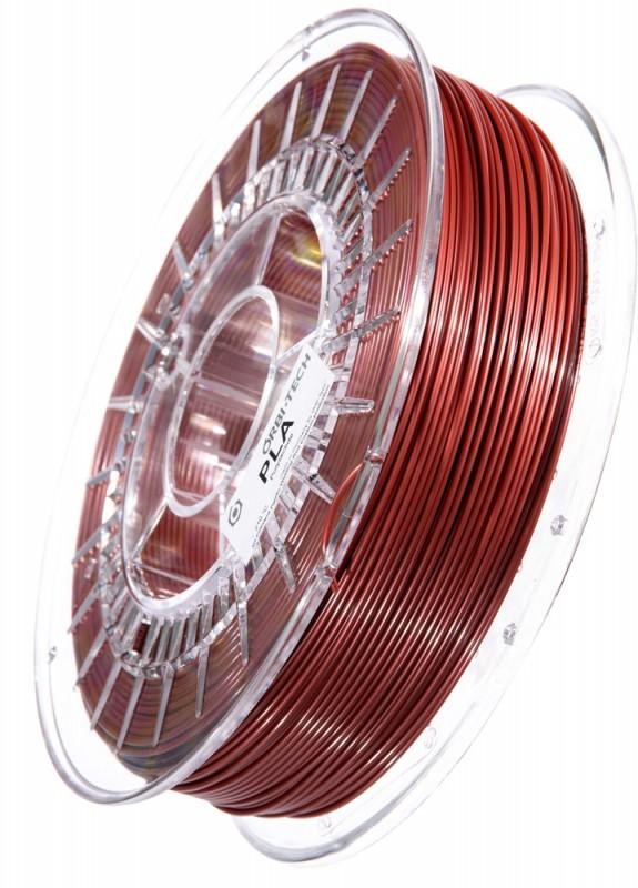 PLA 3D Filament 1.75 mm, 750 g, Metallic-Rot