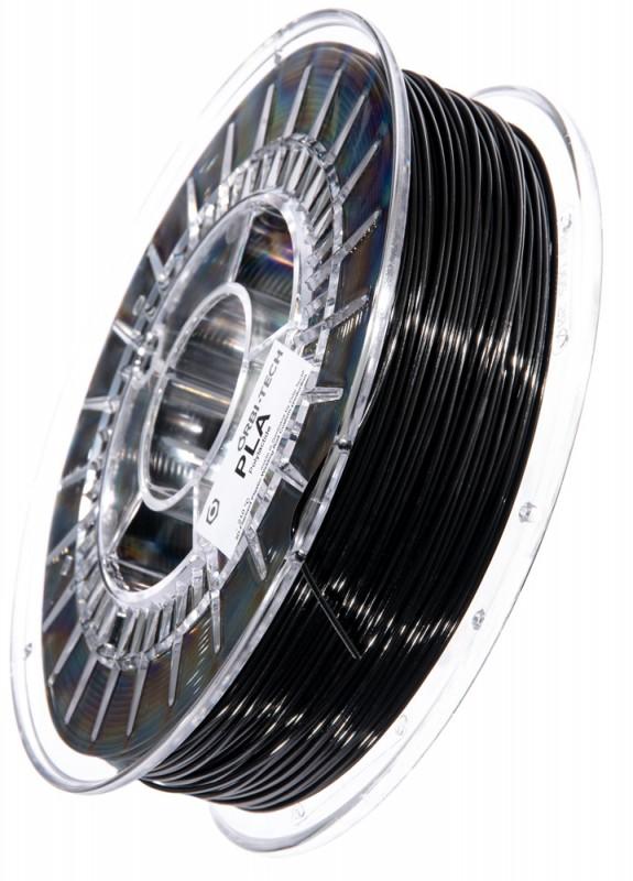 PLA 3D Filament 1.75 mm, 750 g, Schwarz