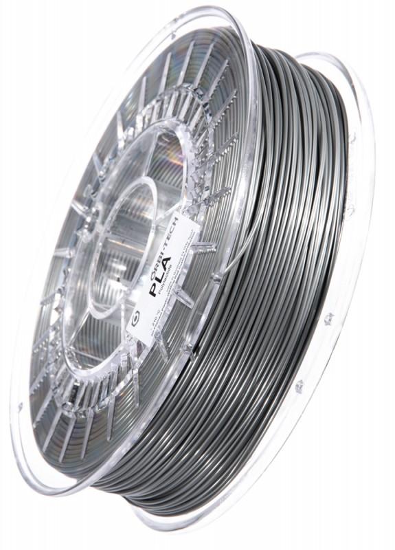 PLA 3D Filament 1.75 mm, 750 g, Silber