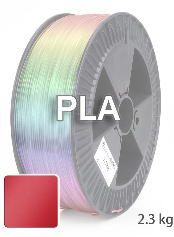PLA 3D Filament 1.75 mm, 2.300 g, Metallic-Rot