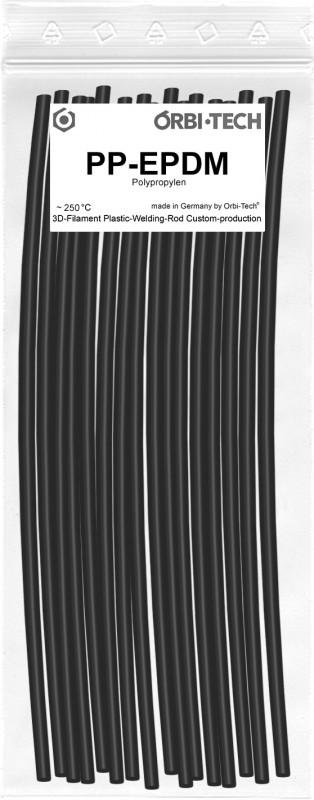 PP-EPDM Reparatur-Sticks (25 Sticks á 20 cm) Schwarz