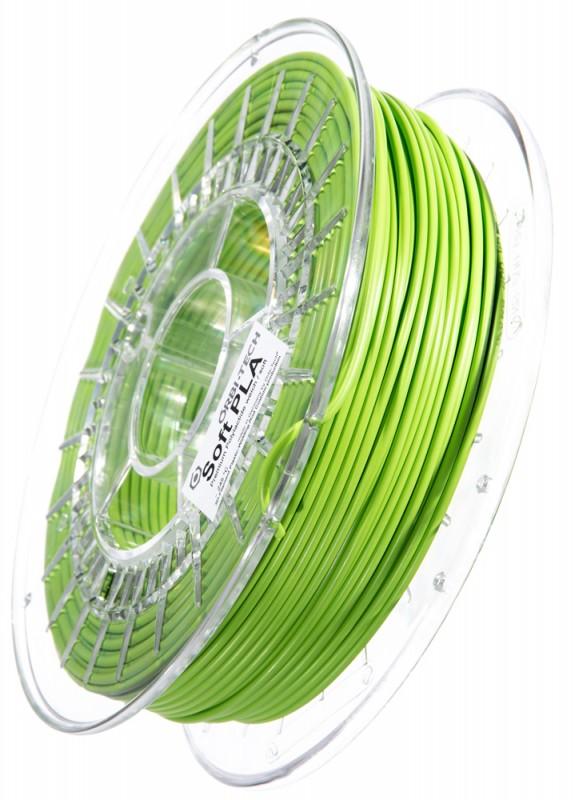 Soft PLA 3D Filament 2,85 mm, 750 g, Grün