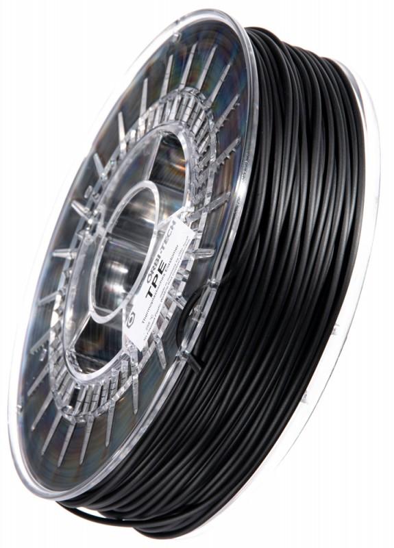 TPE 3D Filament Schwarz, 750 g 2,85 mm