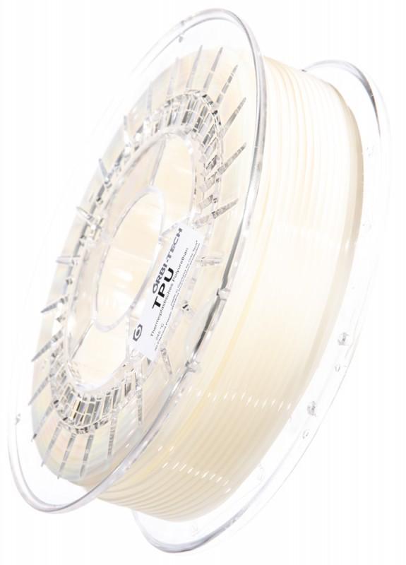 TPU 3D Filament Natur / Opak, 750 g 2,85 mm