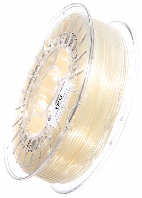TPU 3D Filament Transparent, 750 g, 2,85 mm