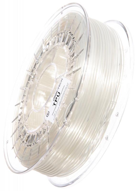 TPU 3D Filament Transparent clear, 750 g, 2.85 mm