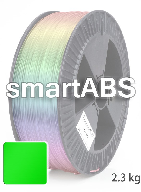 smartABS Filament 2,85 mm, 2.300 g, Grün