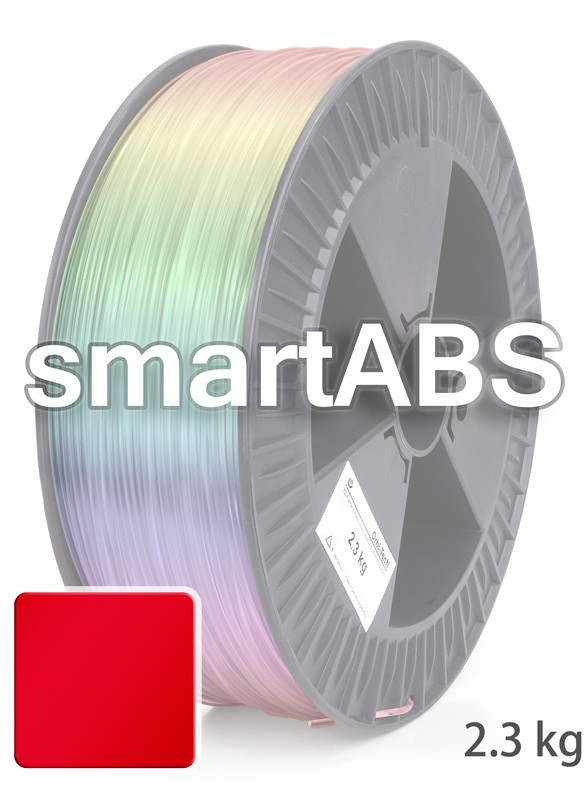 smartABS Filament 2,85 mm, 2.300 g, Rot