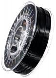 ABS/PC 3D Filament, 2,85 mm, 750 g auf Spule, Schwarz