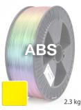ABS Filament 1,75 mm, 2.300 g Gelb