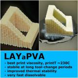 LAYaPVA 3D Filament, 250 g, 2,85 m