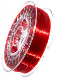 PET Filament 1,75 mm, 750 g, Rot-Transparent