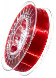 PET Filament 2,85 mm, 750 g, Rot-Transparent