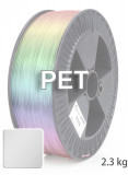 PET Filament 1,75 mm, 2.300 g, Klar / Transparent