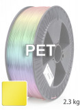 PET Filament 2,85 mm, 2,300 g, Gelb-Transparent