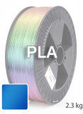 PLA 3D Filament 1.75 mm, 2.300 g, Blau-transparent