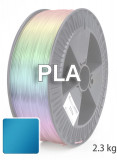 PLA 3D Filament 1.75 mm, 2.300 g, Metallic-Blau