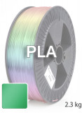 PLA 3D Filament 1.75 mm, 2.300 g, Metallic-Grün