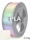 PLA 3D Filament 1,75 mm, 2.300 g, Natur / Transparent
